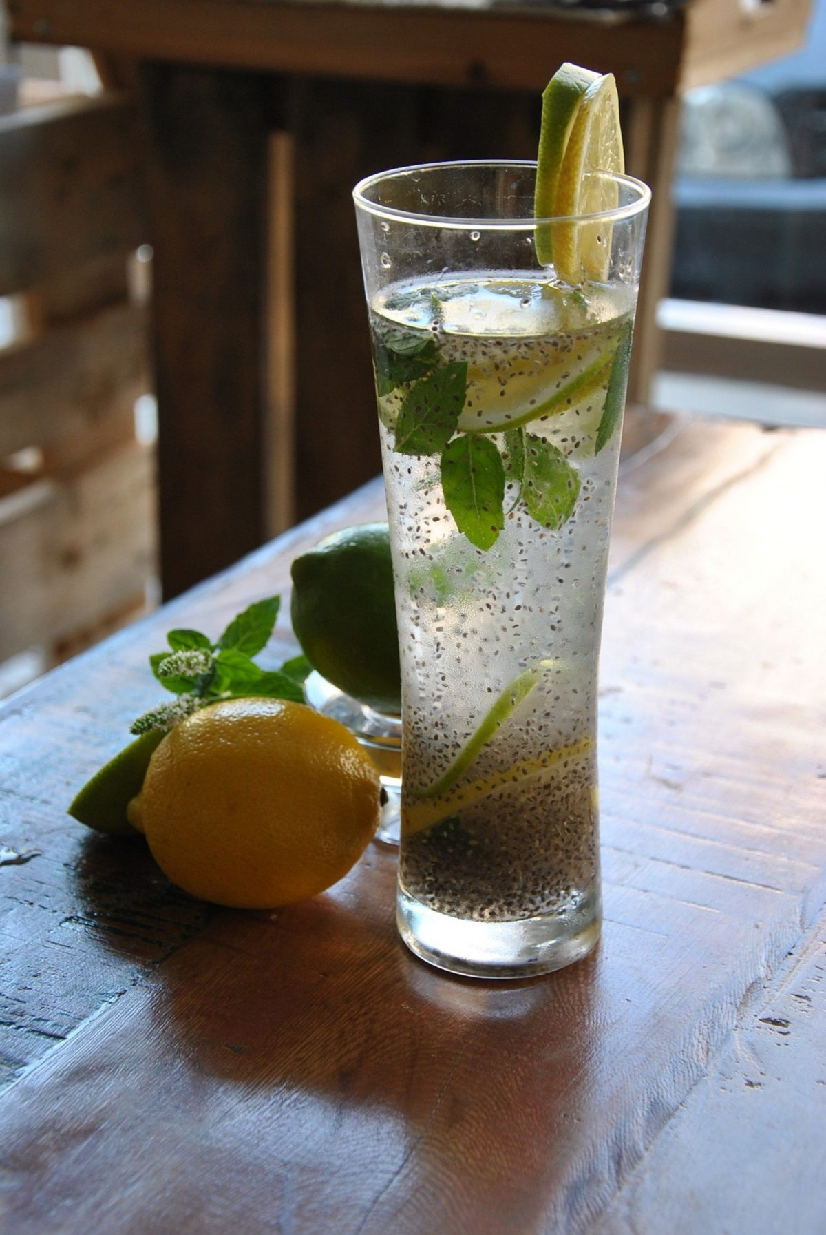 chia lemon water benefits for health and weight loss