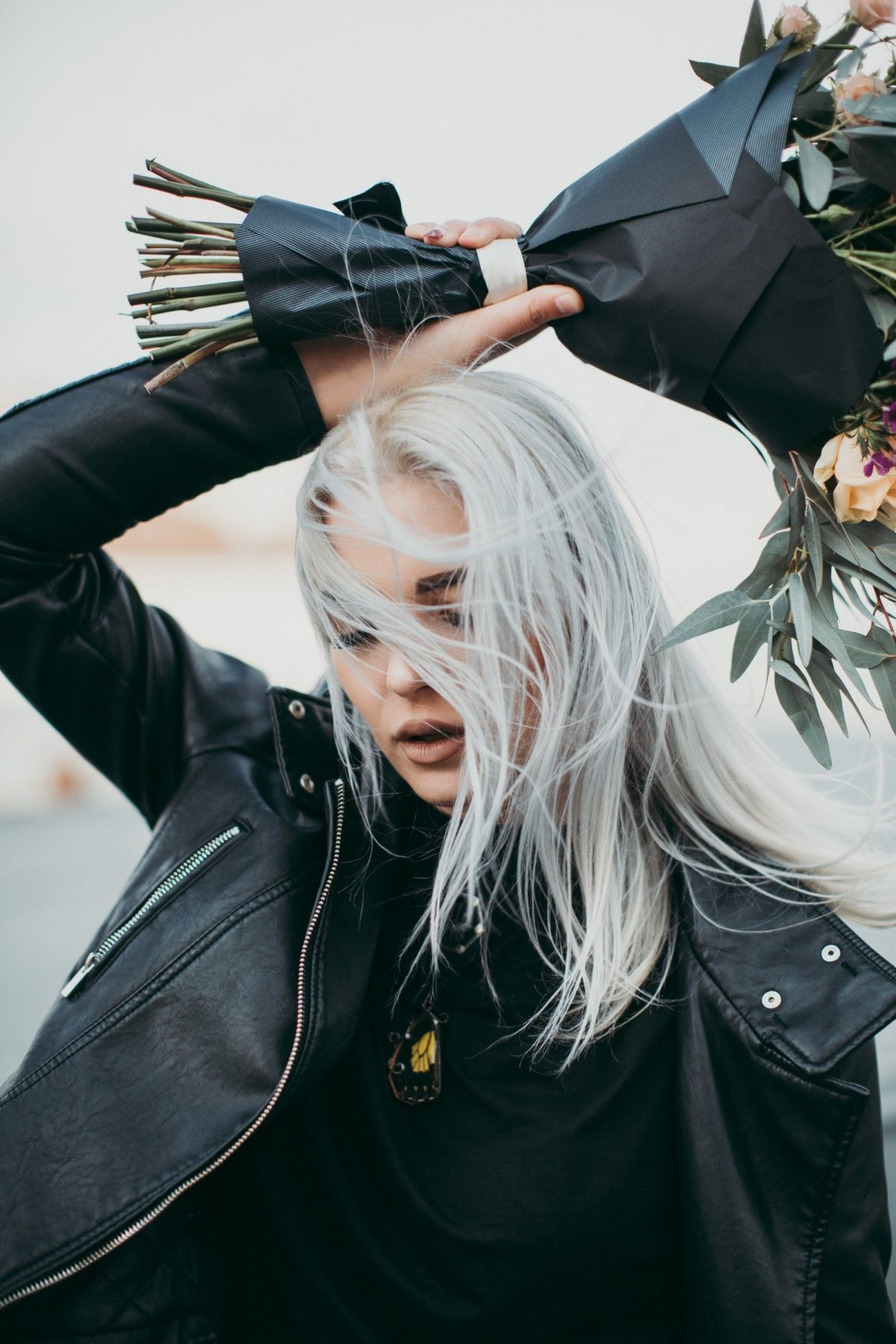 grey hair color on blonde silver white hue