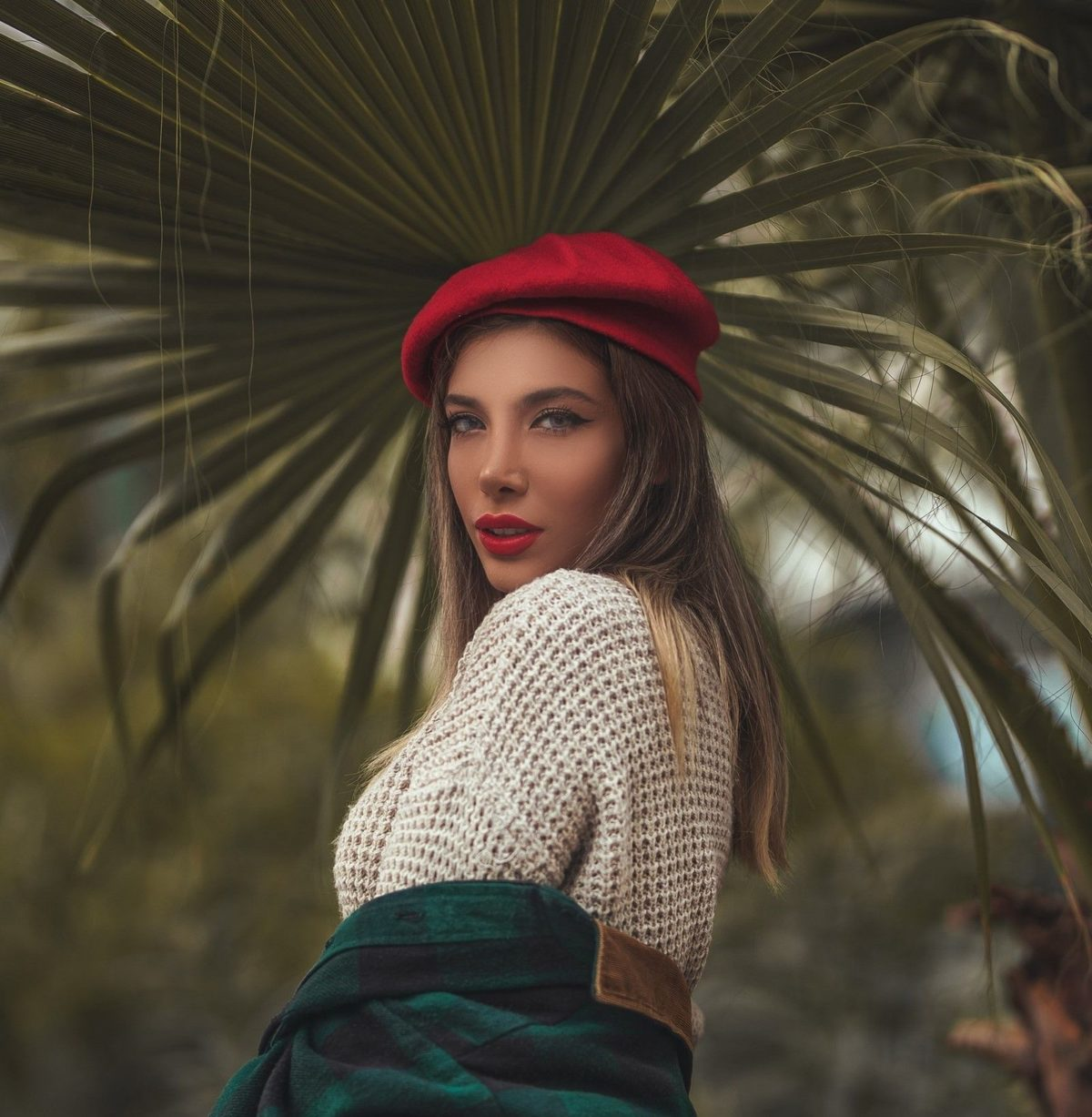 beanie alternatives for winter french beret stylish in red