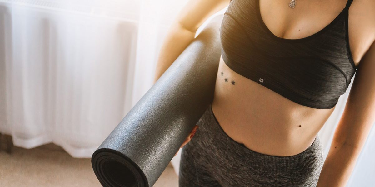 stress relief and exercise at home destress