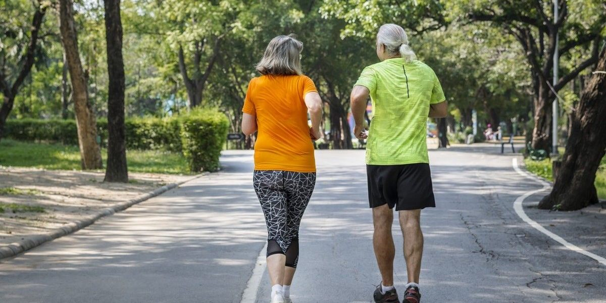 best sport for over 50 is fast walking or nordic walking