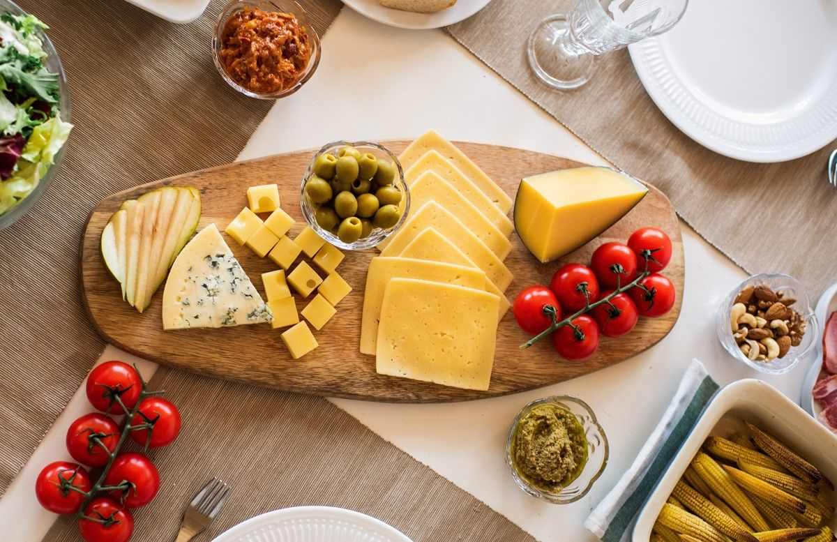 high zinc content in cheese ideal for vegetarians