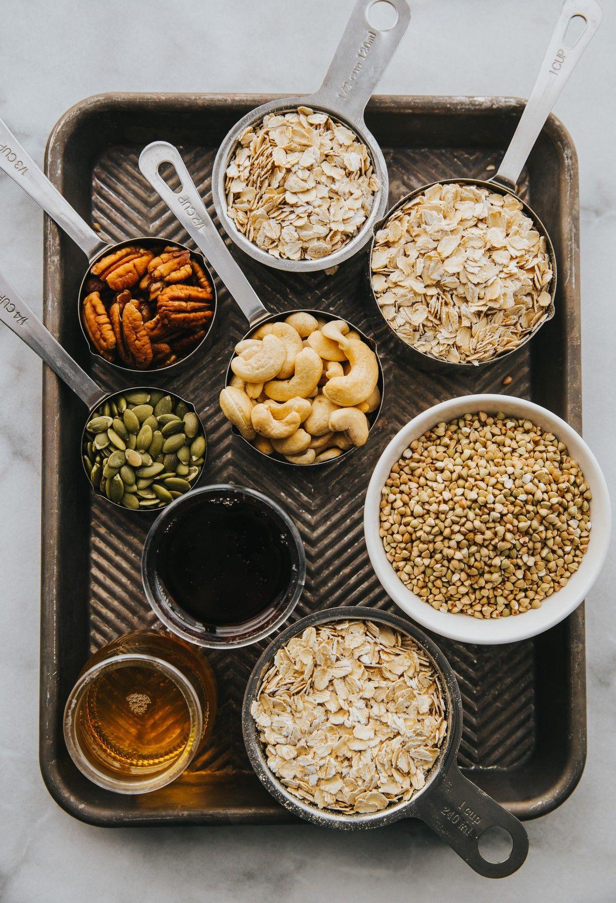 high zinc foods vegan seeds and nuts pecan pumpkin buckwheat cashew