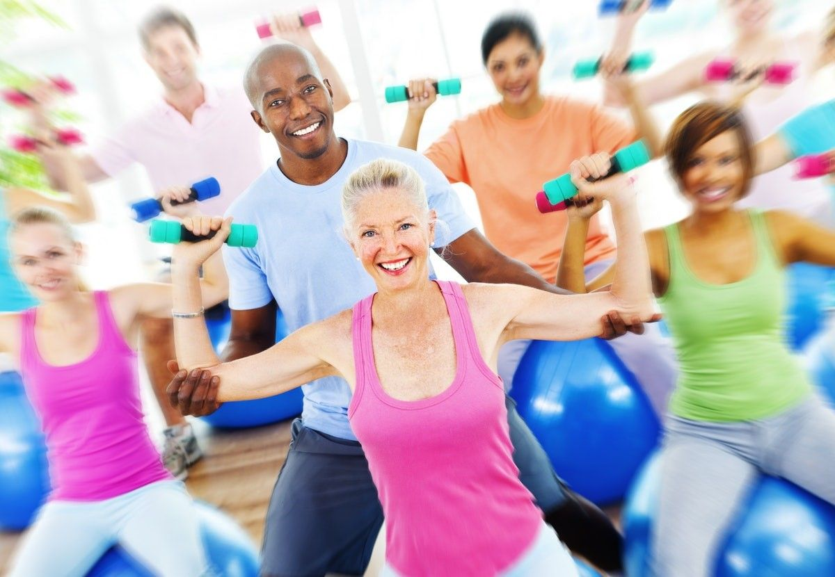 strenght training for over 50s with weights