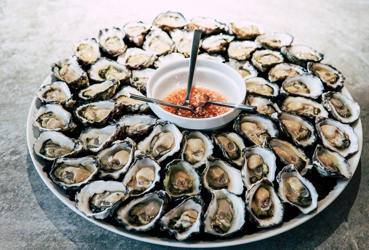top zinc rich foods oysters