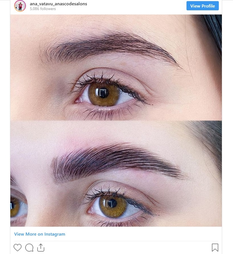 keratin brow lamination lasts up to 4 weeks